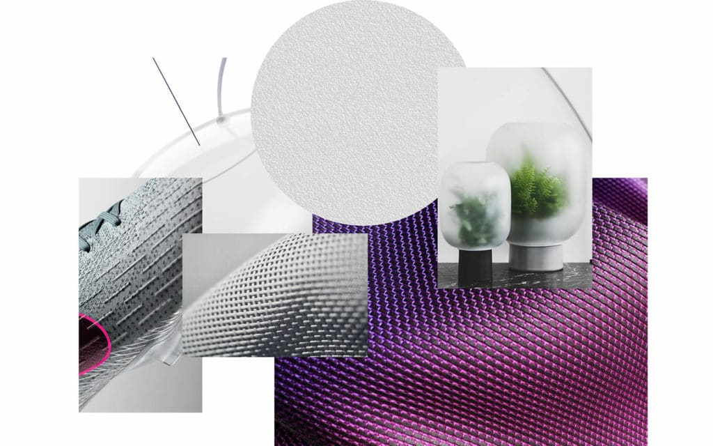 RATIOS, the future of Airplane cabins - materials mood