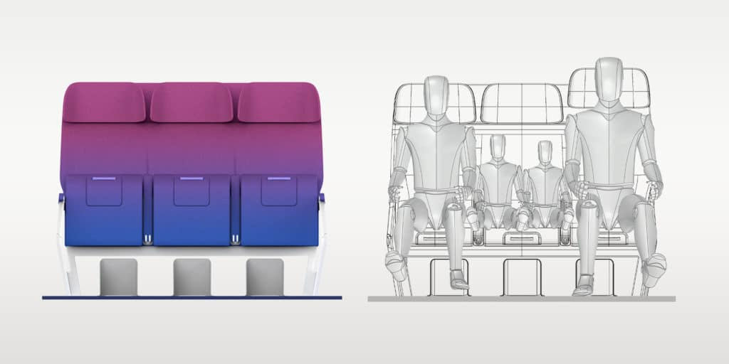 RATIOS, the future of Airplane cabins - seat front_validation